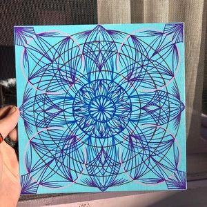 Handmade Mandala Painting Original